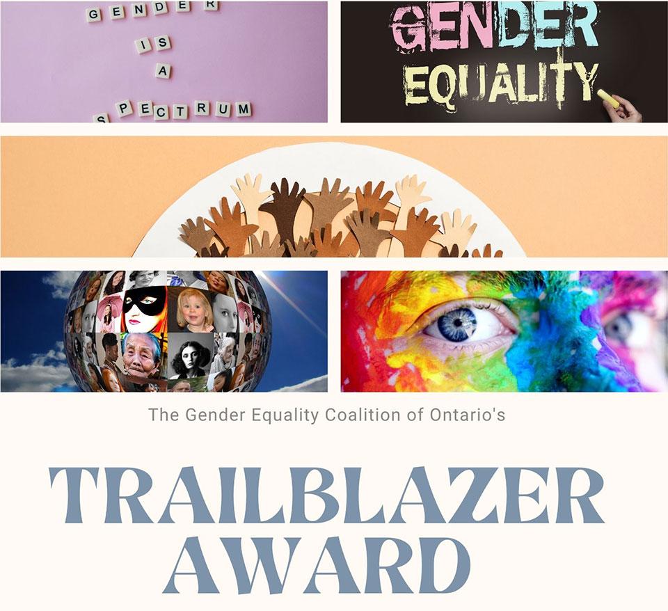 Annual Gender Equality Trailblazer Award